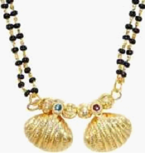 The mangalsutra or mangalasutra – Indian or Hindu