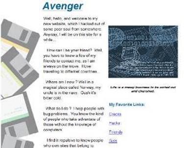 Geocities bondage web sorry, that